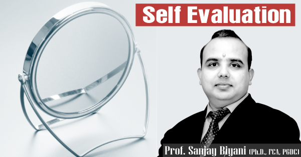 SELF EVULATION