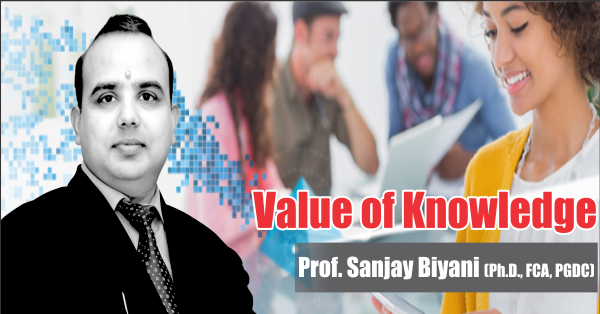 VALUE OF KNOWLEDGE