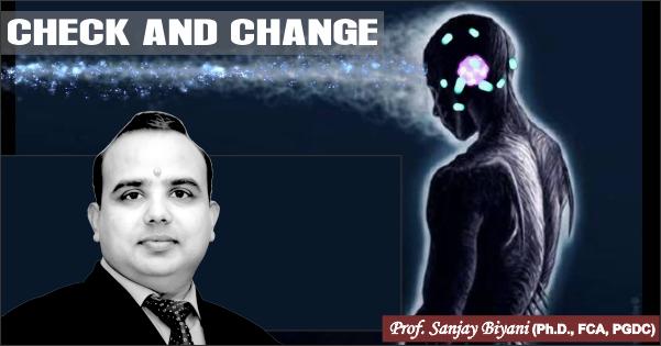 check and change
